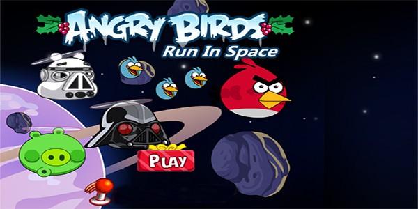 بازی آنلاین پرندگان خشمگین حرکت در فضا