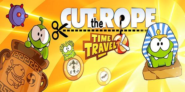 بازی آنلاین طناب را ببر : سفر در زمان