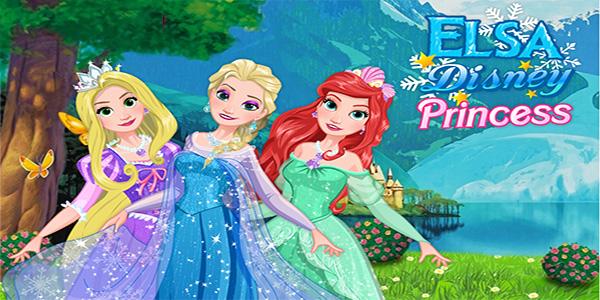 بازی دخترانه پرنسس السا