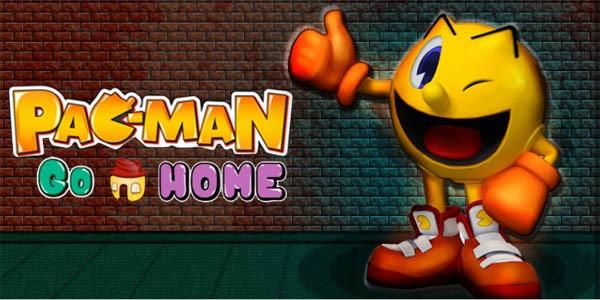 بازی pac man بازگشت به خانه