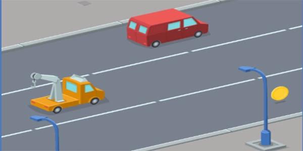 بازی آنلاین رانندگی در خیابان شلوغ