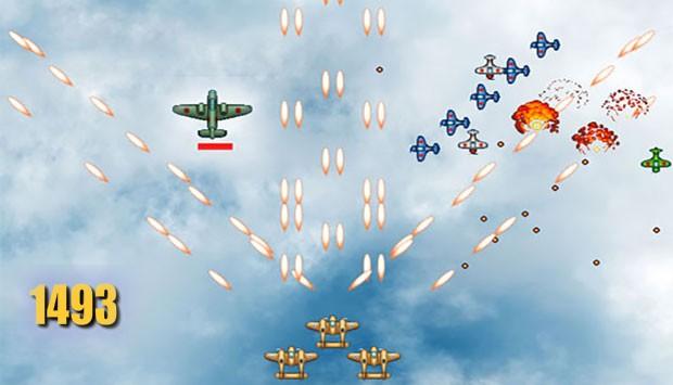 بازی فلش کم حجم هواپیمای جنگی ۱۴۹۳