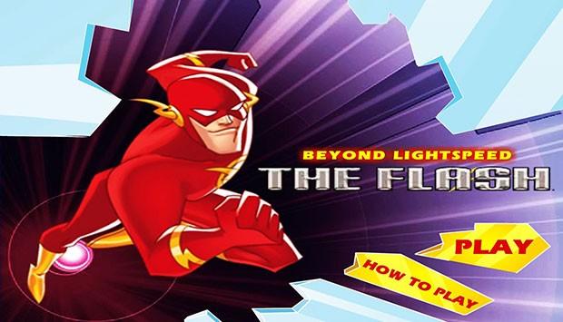 بازی آنلاین فلش قهرمان سریعتر از نور