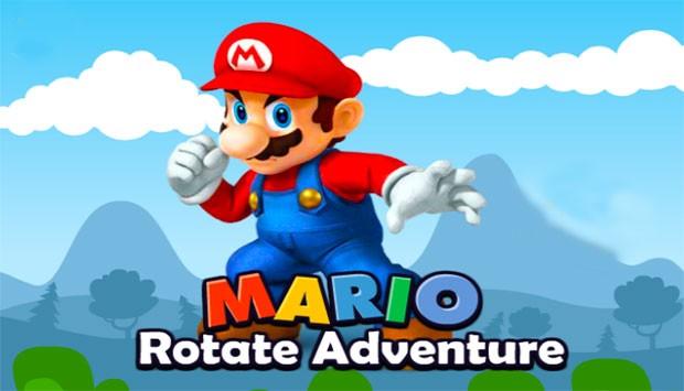 بازی اینترنتی ماریو دنیای چرخشی