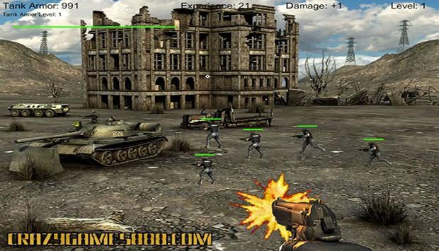بازی آنلاین تیراندازی جنگی مدافعان بیابان