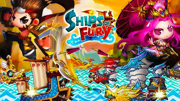 بازی اندروید کشتی های خشم Ships of fury