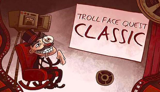 دانلود بازی معمایی ترول اندروید Trollface quest classic