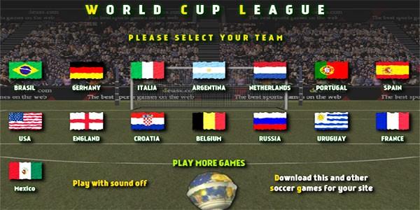 بازی آنلاین ضربه ایستگاهی جام جهانی