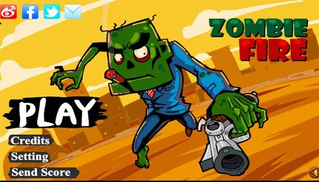 بازی Zombie Fire