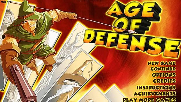 بازی دفاع از قلعه دوران دفاع – Age Of Defense